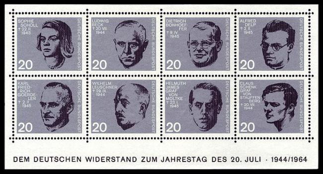 Eine gute Gelegenheiten für ein Andenken: Diese Menschen wollten Hitler stoppen und verloren dafür ihr Leben